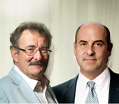 Dr Paraschos with Lord Winston